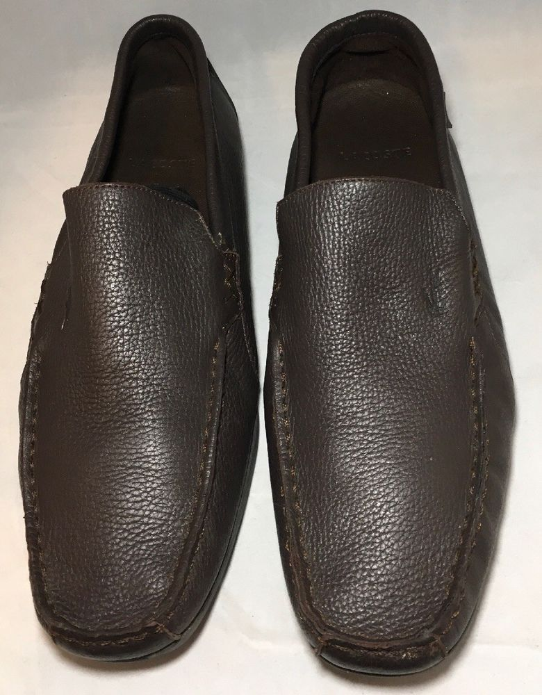 f431c6443d0a Mens Lacoste Argon Lexi 2 Leather Loafers Dark Brown Sz 10 M  fashion   clothing