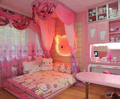 Hello Kitty Hello Kitty Pinterest Cuarto niña, Decoraciones - decoracion de cuartos