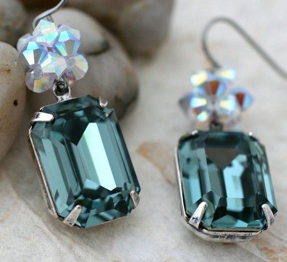 """beautiful #turquoise colored stones (""""Indian Sapphires"""") perfect for a Zeta Tau Alpha #ZTA"""