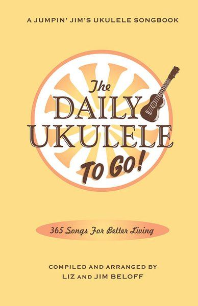 Compiled and arranged by Liz and Jim Beloff, The Daily Ukulele: To Go features 365 well-known songs with easy ukulele arrangements in one 5-1/2 x 8-1/2 compact songbook. Featuring the same songs and arrangements from the original full-size Daily Ukulele, this streamlined edition is smaller, lighter and perfect for those who want to travel with their favorite songbook. All arrangements feature melody, lyrics and ukulele chord grids in uke-friendly keys and never require a page turn in the…