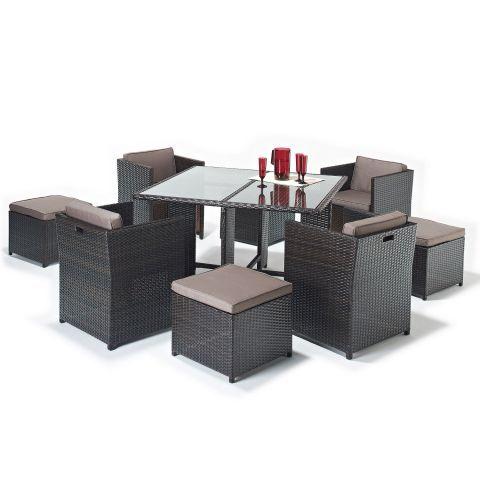 Rattan Cube 4-8 Seater Set A Garden Ideas Pinterest Garden