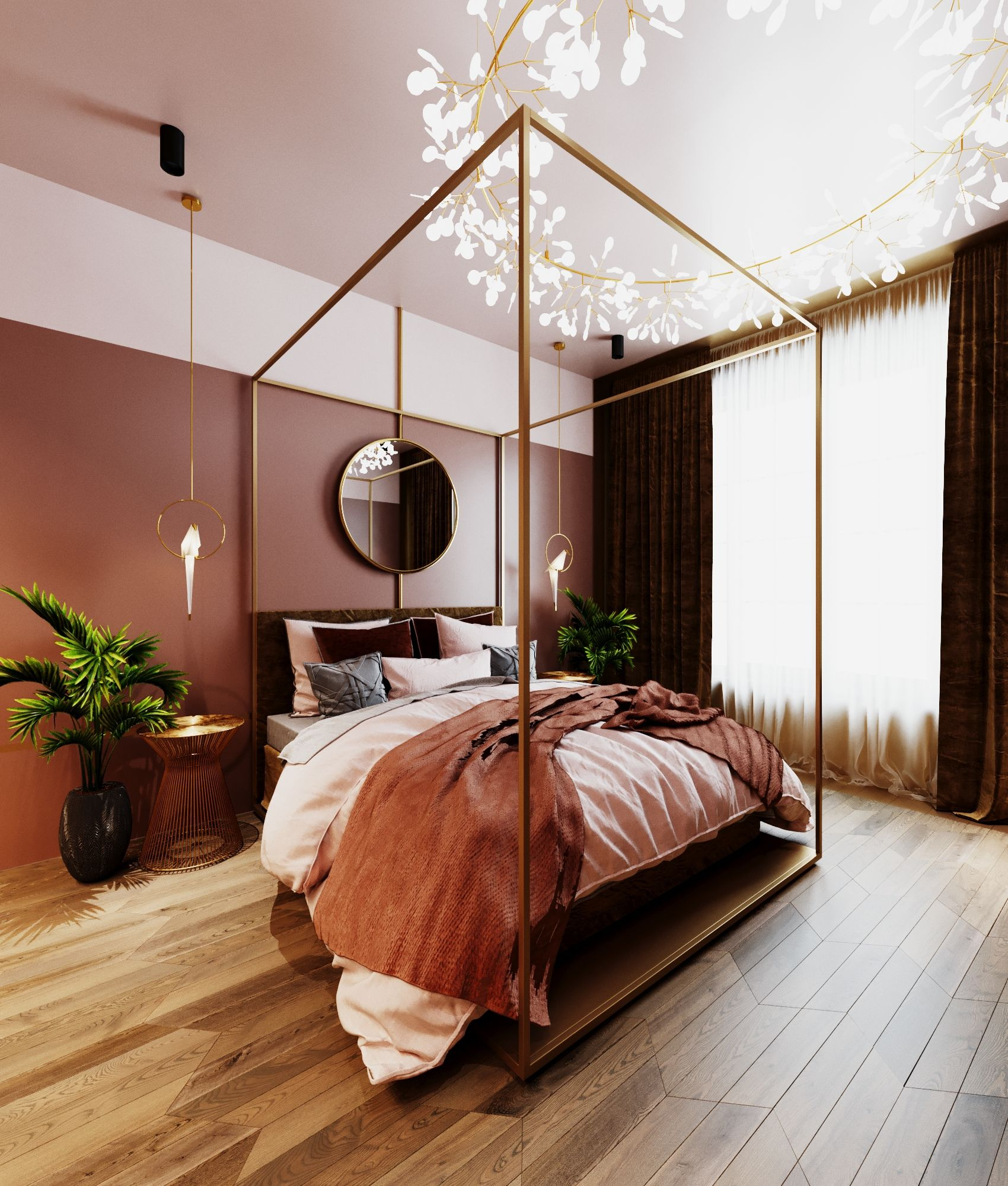 침실 디자인, 침실, 인테리어