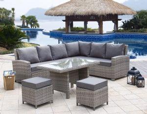 Prime Bermuda 5 Piece Corner Sofa Set For 599 95 Now Available On Machost Co Dining Chair Design Ideas Machostcouk