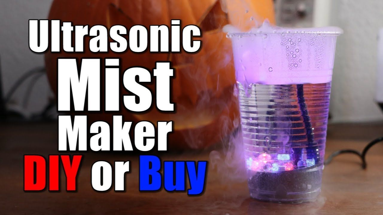 Easy Homemade Ultrasonic Humidifier for Less Than 10