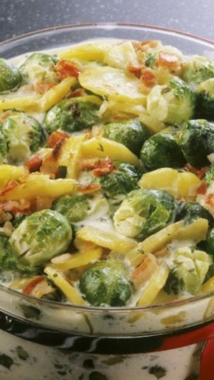 Aufläufe mit Rosenkohl: Gesunde & einfache Rezepte