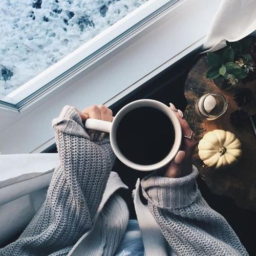 Image de coffee, winter, and photography