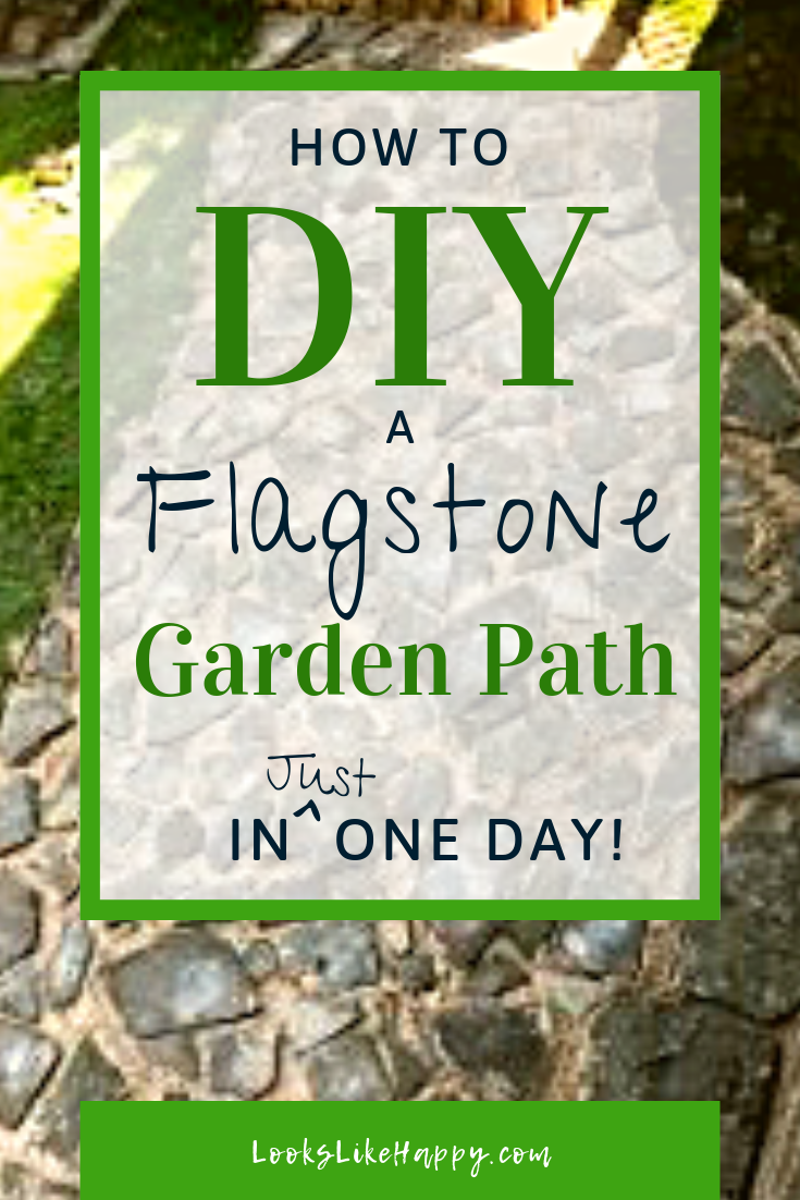 Installing A Flagstone Patio With Mortar: How To Install A DIY Flagstone Garden Path In Just One Day