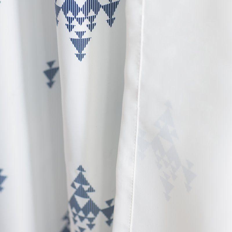 Delanie Geometric Room Darkening Rod Pocket Curtain Panels Reviews Birch Lane Rod Pocket Curtain Panels Rod Pocket Curtains Panel Curtains