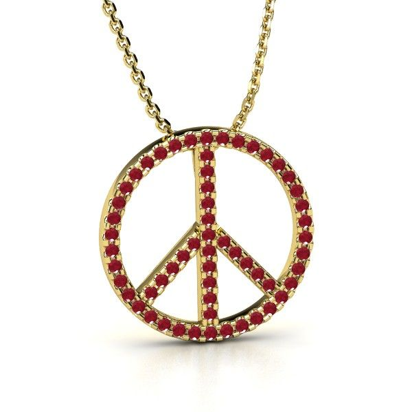 Peace sign pendant cool jewelry gothic pinterest peace sign pendant mozeypictures Choice Image
