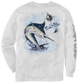Salt Life Marlin T-Shirt for Men - Long Sleeve | Bass Pro Shops $30
