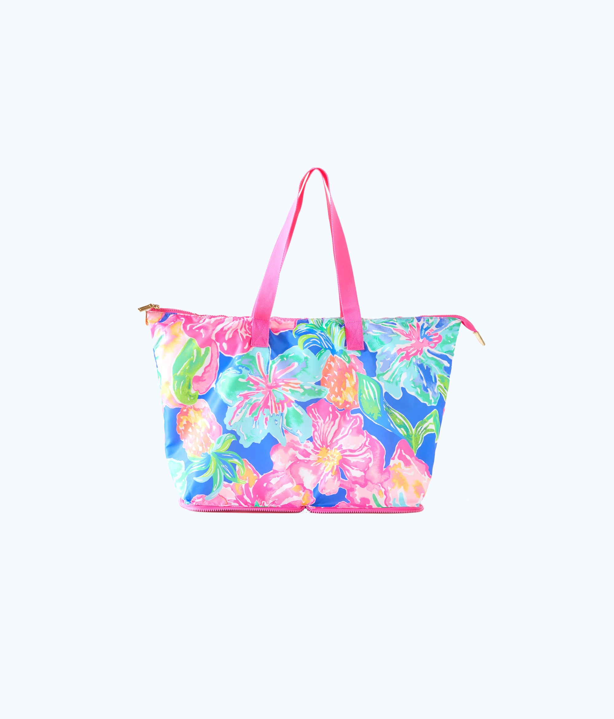005840c797 Lilly Pulitzer Getaway Packable Tote - Beckon Blue Jungle Utopia 1 ...