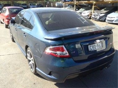 Wrecking 2010 Fpv F6310 Sedan For Parts Only Sedan Fpv Parts
