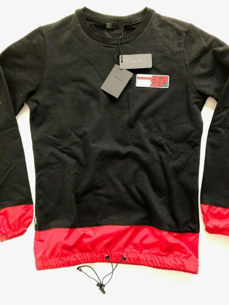 535fa5179 new Prada Longline mens t-shirt black color size L #fashion #clothing #