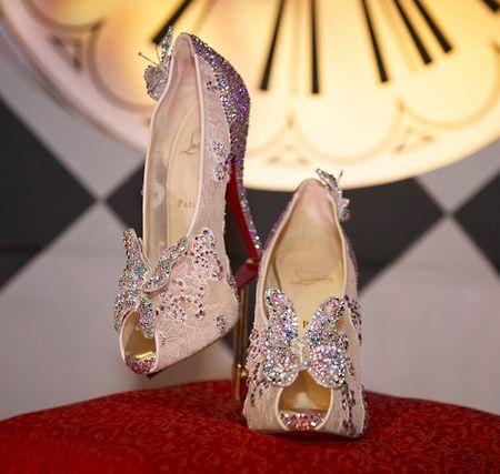 Brides Magazine: Christian Louboutin  Louboutin's for any reason !!!!!
