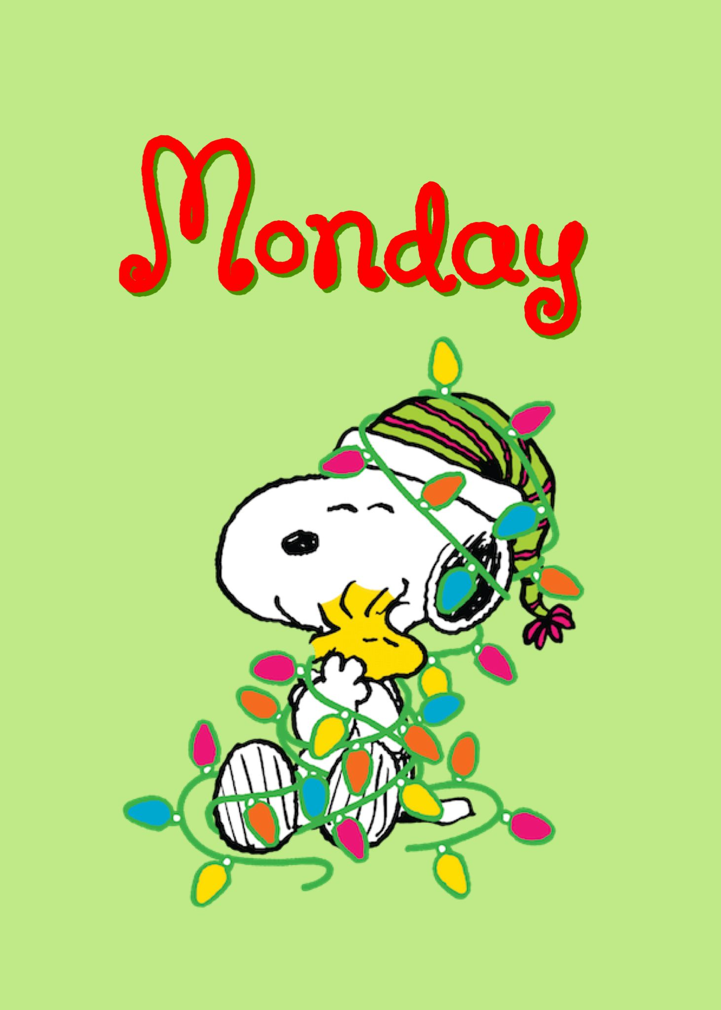 Happy Monday | Snoopy | Pinterest | Snoopy, Snoopy christmas and ...