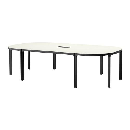 Bekant Konferenztisch Schwarzbraun Weiß Konferenztisch 10 Jahre