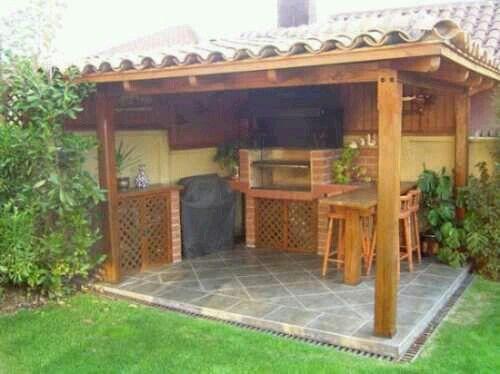 Pin de nicky rodriguez en huerto jardin pinterest for Diseno de muebles de jardin al aire libre