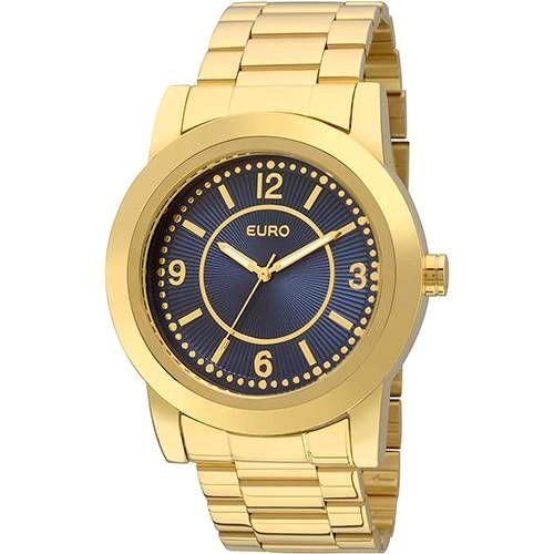78286b4ae517c Relógio Feminino Euro Analógico Fashion Eu2036yga 4a em oferta no Shoptime! Compre  agora pelo