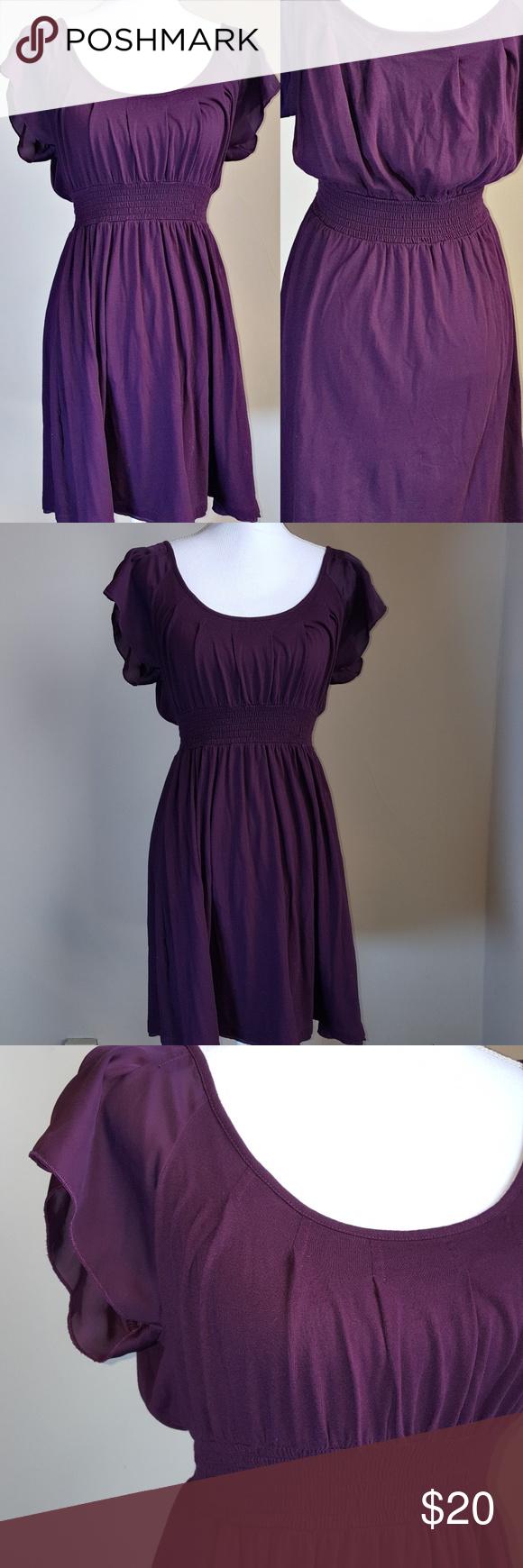 Final Price Drop!* Express Flutter Sleeves Dress   Cotton summer ...