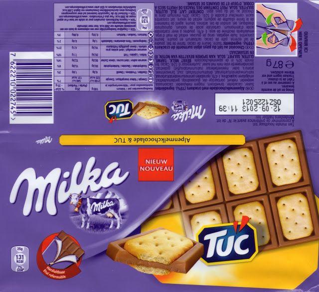 Tablette Chocolat Milka Biscuit