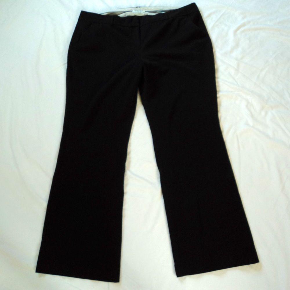 374f8f90e81f0 Old Navy Size 20 Long Tall Black Trouser Wide Leg Dress Pants Career Wear  Ladies  OldNavy  DressPants