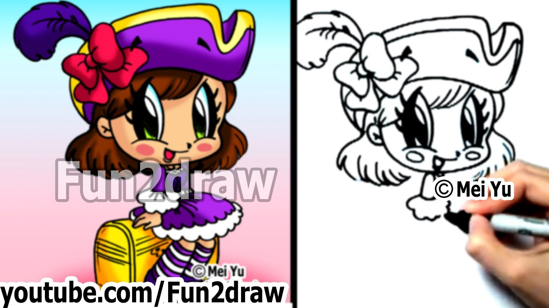 17 Best Images About Fun2draw On Pinterest How To Draw, Kawaii Drawings And  How To