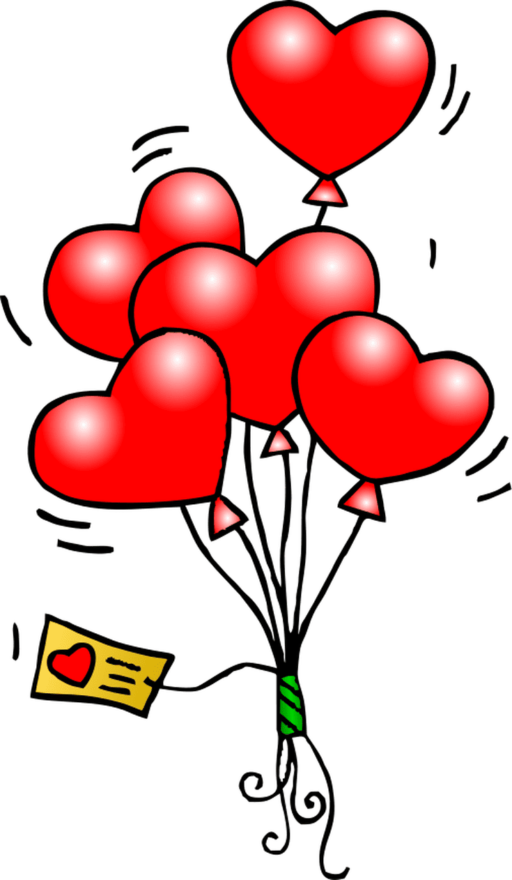 1 123 free clip art images for valentine s day clipart valentines from wpclipart [ 735 x 1262 Pixel ]