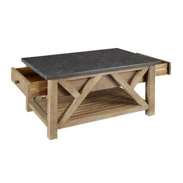 A-America West Valley Cocktail Table, With Bluestone Top - WVARW7110 from BEYOND Stores