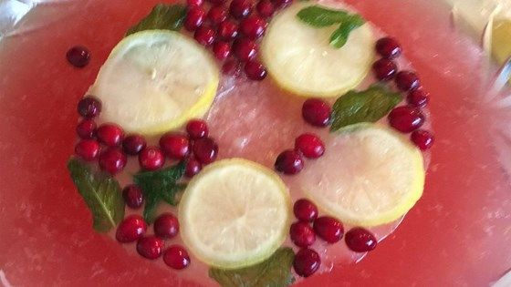 A refreshing punch made with cranberry juice lemonade white wine food ideas a refreshing punch made with cranberry juice lemonade white wine club soda and forumfinder Image collections