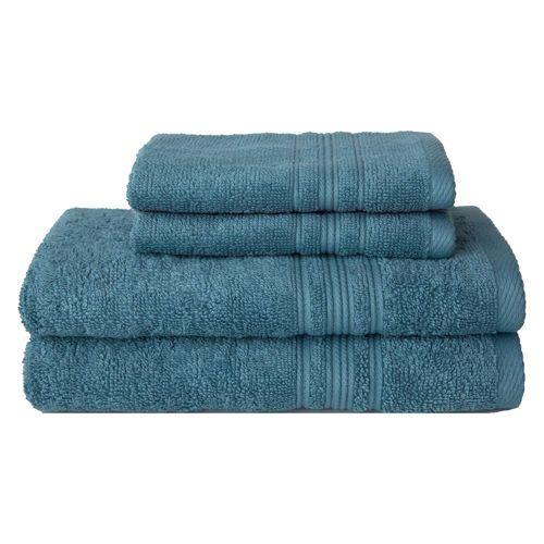 Charisma 100 Hygro Cotton 674 Gsm 4 Pc Bath Towel Set With