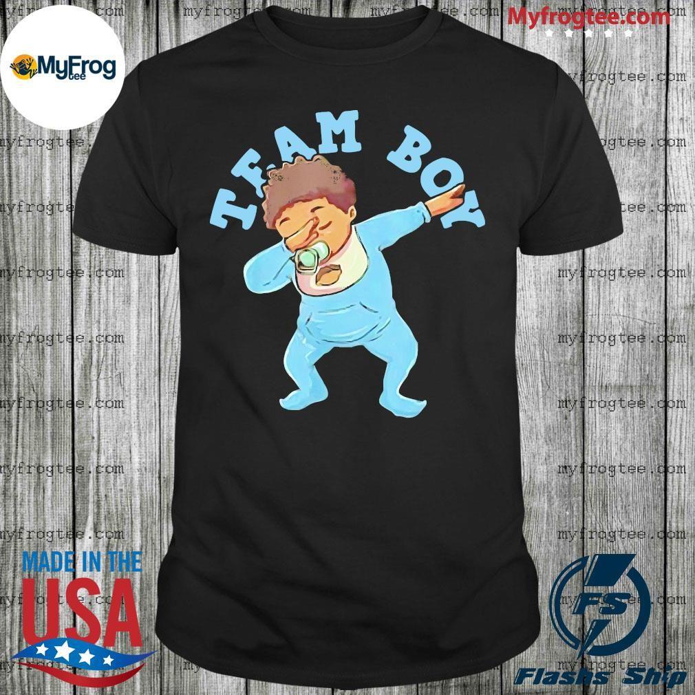 Gender reveal team boy 2020 shirt in 2020 Gender reveal