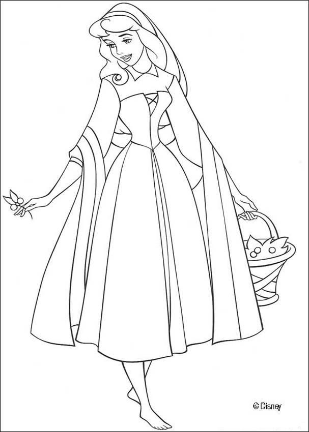 Sleeping Beauty Coloring Pages Aurora Sleeping Beauty Coloring