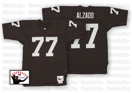 Hot Lyle Alzado Men's Authentic Black Jersey: Mitchell and Ness  supplier