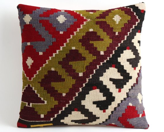 Kilim pillows, couch pillows, persian rug, throw pillows, gypsy bedroom decor