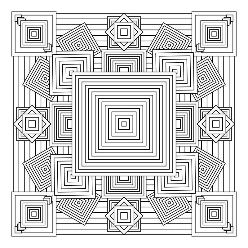 Pin By Melida Paredes On Mandalas Geometric Coloring Pages Mandala Coloring Pages Pattern Coloring Pages