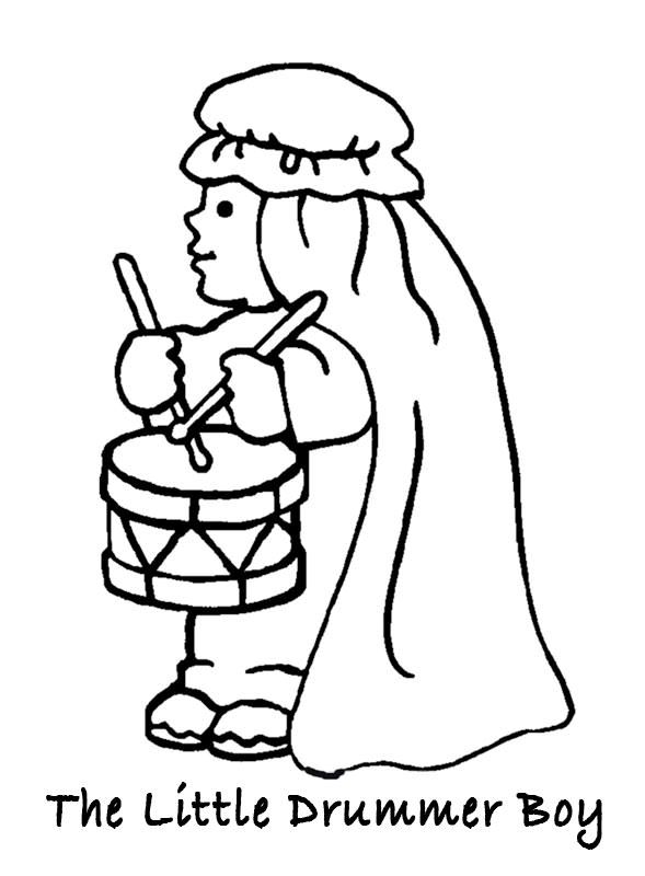 Images Little Drummer Boy Coloring Google Search Angel