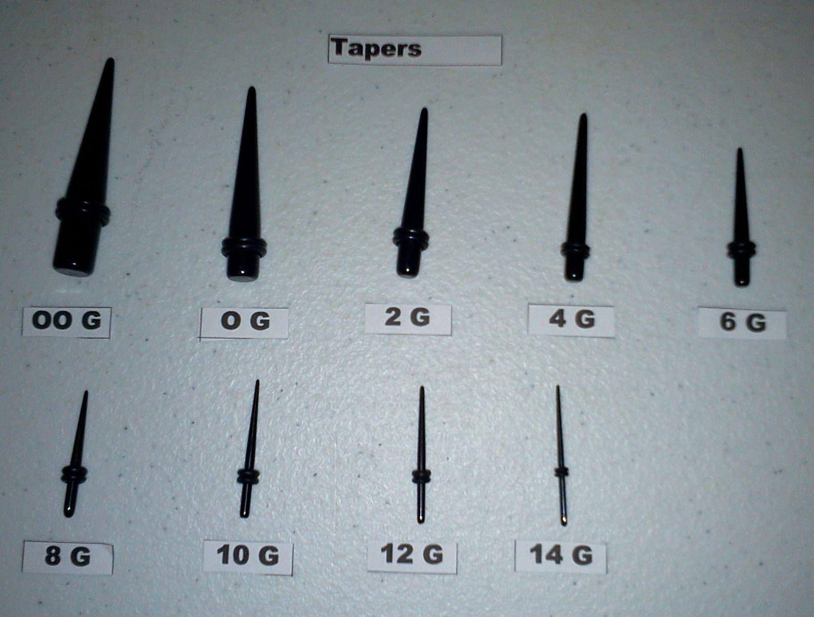machine tapers