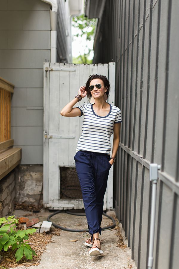8e6851ef2d How to Style Summer Pants That Aren t Jeans - from ONE little MOMMA + all the  best leather accessories