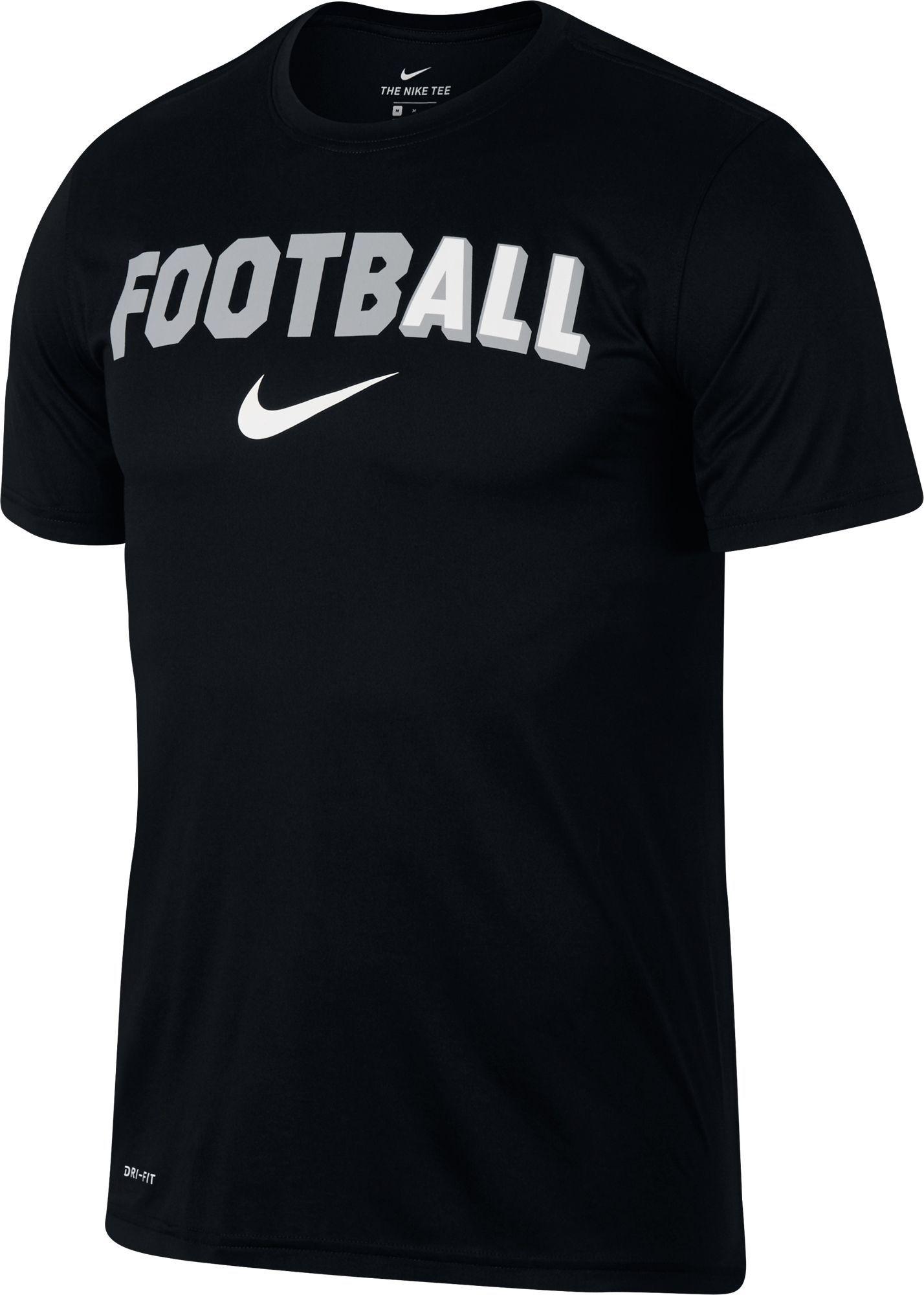 abd1d7610d24 Nike Men s All Football Legend Short Sleeve T-shirt (Dark Grey ...