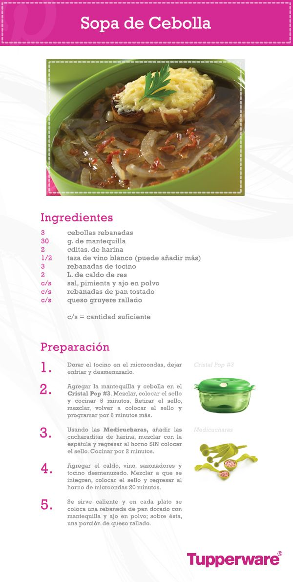 La sopa de cebolla es riqu sima y nutritiva adem s de muy - Comidas saludables y faciles de preparar ...