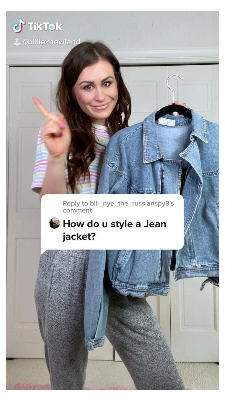 how to style denim jacket women
