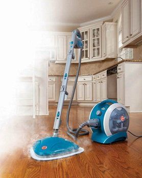 Hoover TwinTank Disinfecting Canister Steam Cleaner.. Oh My How I Want This!