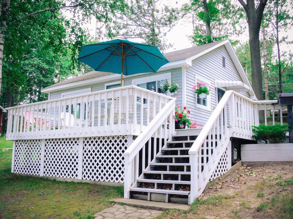 Cottage vacation rental in Crooked Lake Clare County from VRBO