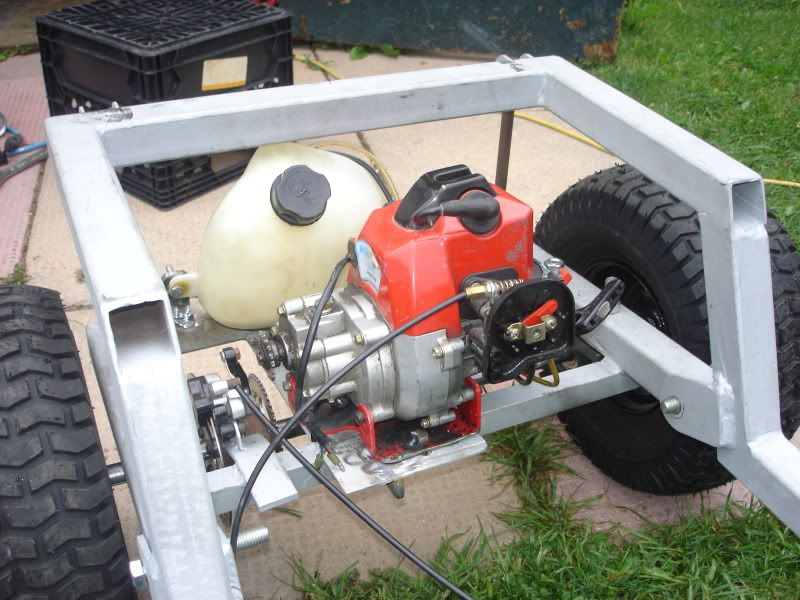 Modified Power Wheels - GAS POWERED BARBIE JEEP (VIDEO) kid