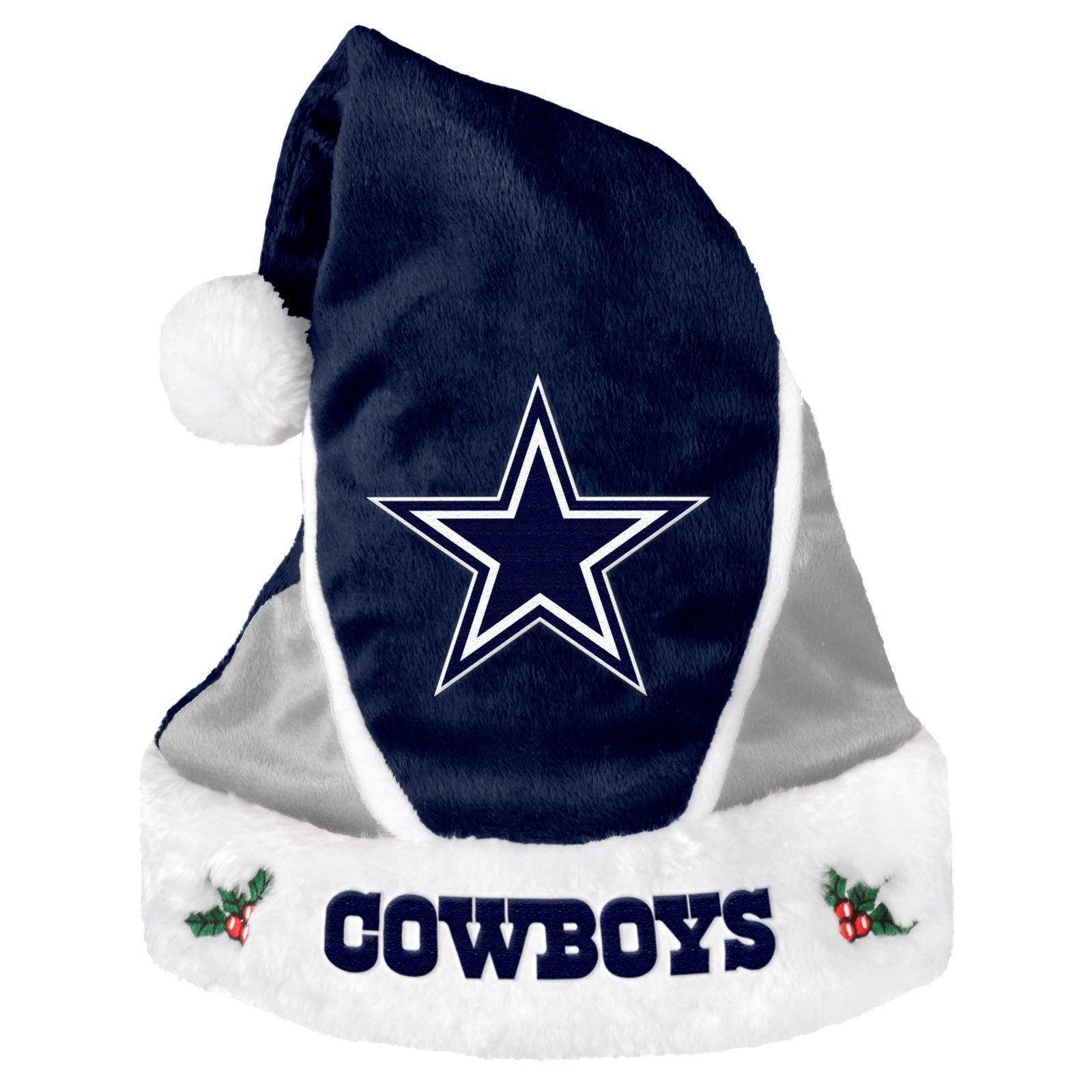 Dallas Cowboys Colorblock Santa Hat  5caceda9a