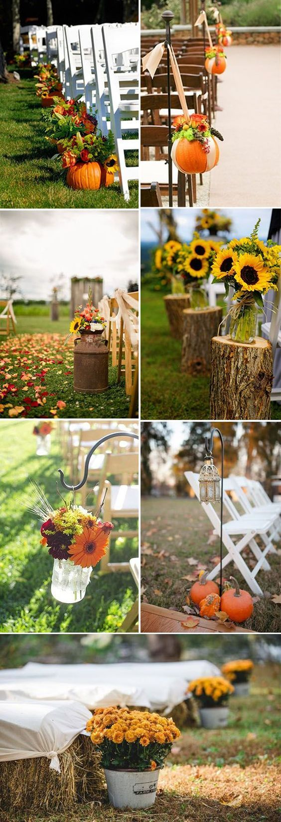 Wedding decorations venue october 2018 Fall In Love With These  Great Fall Wedding Ideas  th Wedding