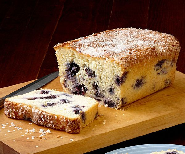 Blueberry-Ginger Bread by Fine Cooking