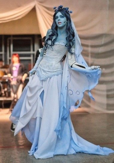 Donne adulti La sposa Cadavere Costume Horror Halloween fantasia Abito Outfit