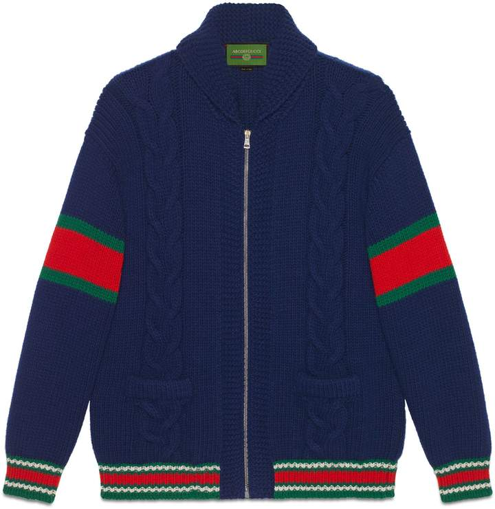 Photo of Gucci DIY unisex wool bomber