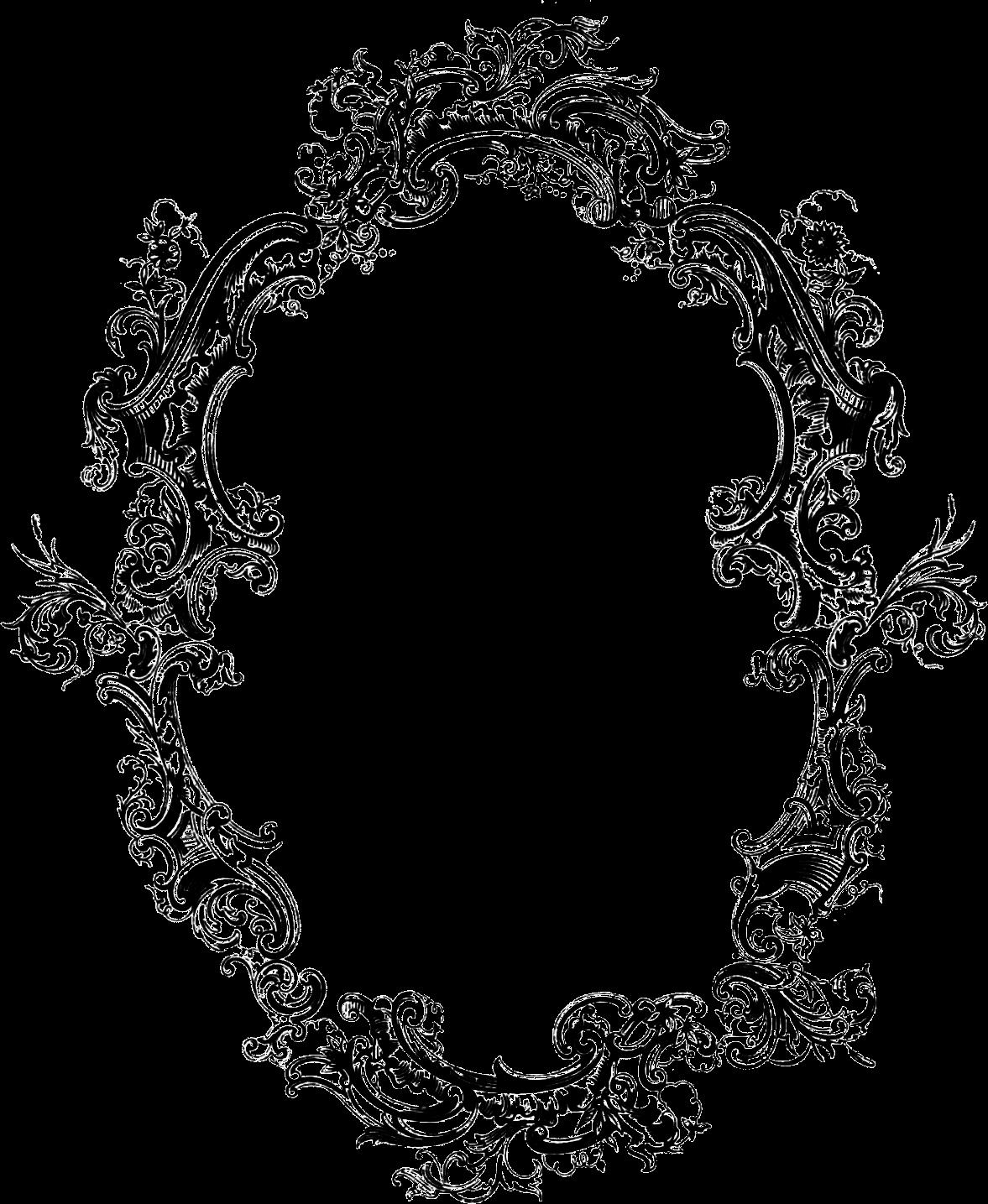 filigree frame filigree acanthus pinterest